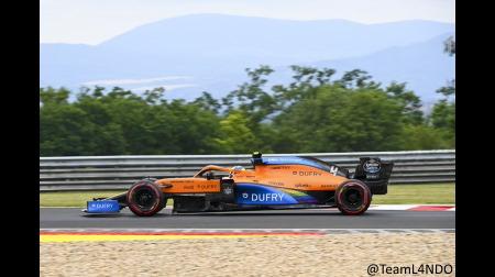 マクラーレン、オーストリアに比べて苦戦@F1ハンガリーGP