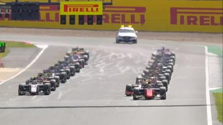 2020F2イギリス決勝レース1結果