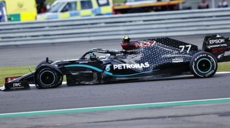 ボッタス、残りわずかでのタイヤバーストでノーポイントに@F1イギリスGP