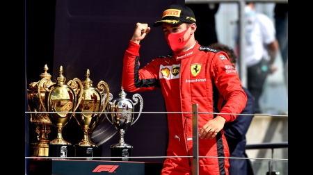 ルクレール、棚ぼたながら見事表彰台を獲得@F1イギリスGP