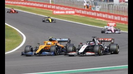 グロージャン、ディフェンスが危険@F1イギリスGP