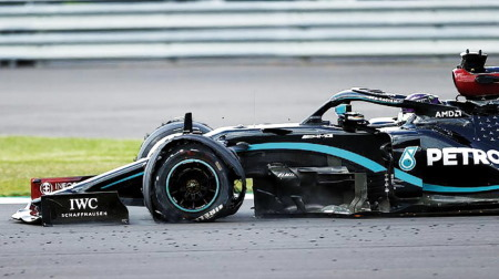 メルセデス、F1イギリスGPの判断ミスを認める