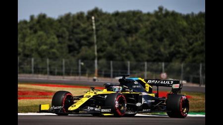 オコン、アタック妨害で3グリッド降格@F1 70周年記念GP予選