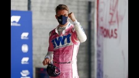 ヒュルケンベルグ、渾身のアタックで予選3位@F1 70周年記念GP予選