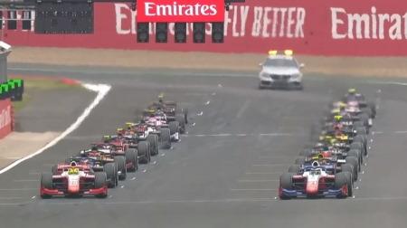 2020F2イギリス2決勝レース2結果