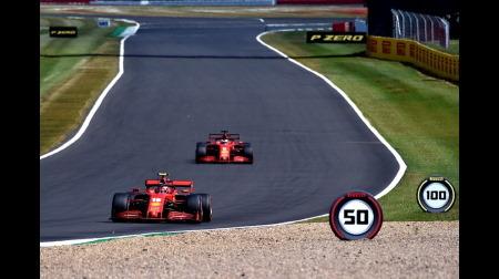 フェラーリ本気出して予選8-12@F1 70周年記念GP