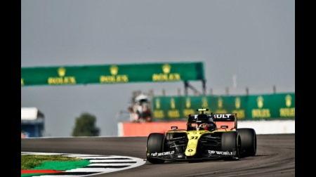 オコン、力強い走りで1ストップ成功@F1 70周年記念GP