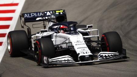 アルファタウリのガスリー、Q2でとんでもないタイムを叩き出す@F1スペインGP予選