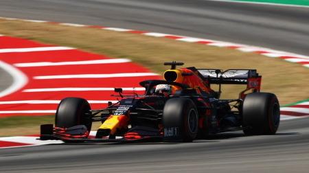 レッドブルのフェルスタッペン、このレースに限り2位に満足@F1スペインGP