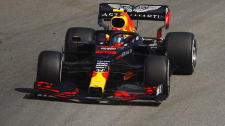 アルボン、得意の追い上げを見せられず@F1スペインGP