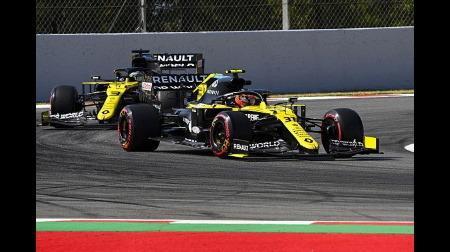 ルノーF1のオコン、パフォーマンス不足に悩みエンジンなどのコンポーネントを交換へ@F1ベルギーGP
