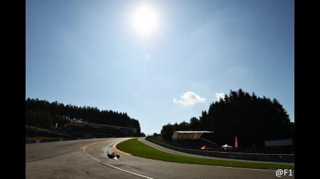 スパ・フランコルシャン、ユベールの事故現場の安全性に配慮@F1ベルギーGP