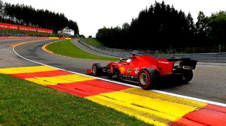 フェラーリ、マシンが決まらず大苦戦@F1ベルギーGP初日