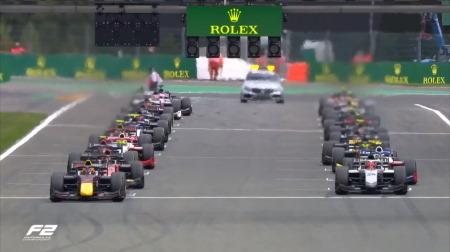 2020F2ベルギー決勝レース1結果