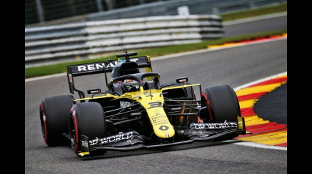 ルノー、予想外の好成績@F1ベルギーGP予選
