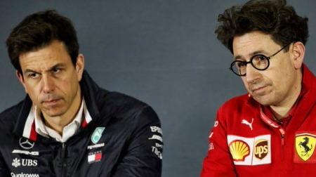 メルセデスのトト・ウォルフ、フェラーリの問題に迫る