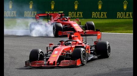 フェラーリ、パワーサーキットで惨敗@F1ベルギーGP