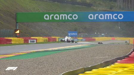 ジョビナッツィ、チームとラッセルに謝罪@F1ベルギーGP