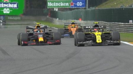 アルボン、謎のミディアムタイヤ戦略で終盤失速@F1ベルギーGP