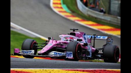 レーシングポイント、F1ベルギーGPで意外にも速くなかった