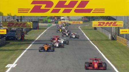 予選で最低タイムを設定@F1イタリアGP