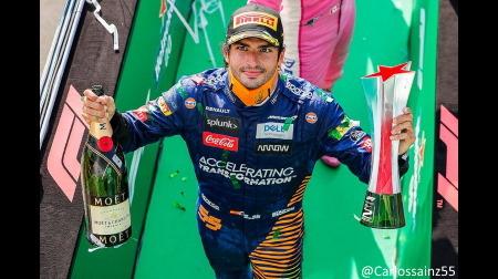 マクラーレンのサインツ、レースでのパフォーマンスを誇る@F1イタリアGP