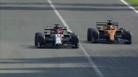 ライコネン、2位からズルズル落ちてノーポイント@F1イタリアGP