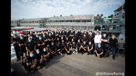 ウィリアムズファミリー、最後のレースを終える@F1イタリアGP