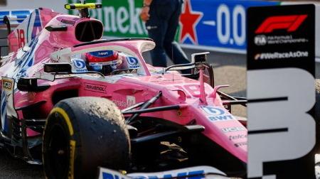 ストロール、3位表彰台を獲得@F1イタリアGP