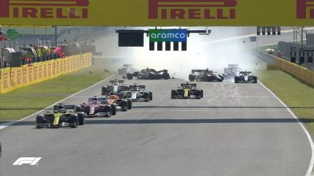 12人のF1ドライバーに警告@F1トスカーナGP