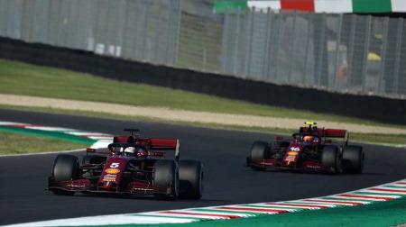 1000GPレースで散々なパフォーマンスだったフェラーリ@F1トスカーナGP