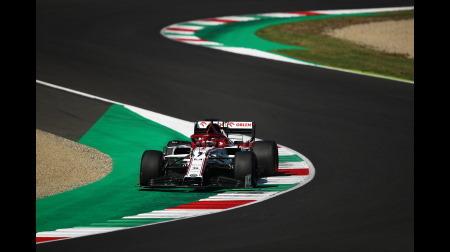 アルファロメオのライコネン、ペナルティを受けるも今季初入賞@F1トスカーナGP