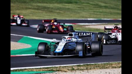 ラッセル、あと一歩のところで初入賞を逃す@F1トスカーナGP