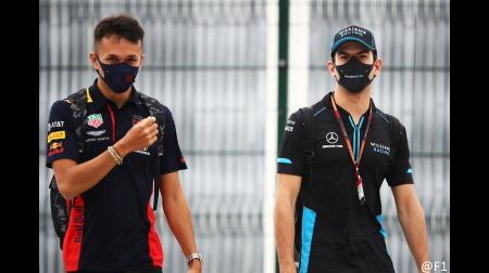 アルボン&ラティフィがギアボックス交換@F1ロシアGP