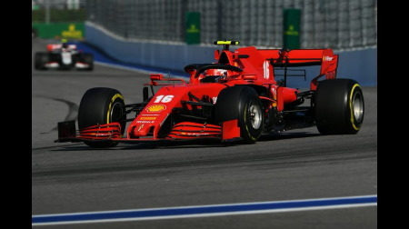 フェラーリ、ベッテルでルノーを蓋してルクレールが6位入賞@F1ロシアGP
