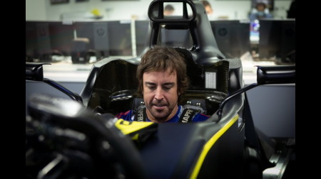 F1王者アロンソ、自画自賛