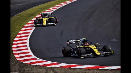 ルノー、競争力を伸ばす@F1アイフェルGP
