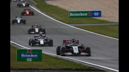 ハースのグロージャン、今シーズン初入賞@F1アイフェルGP