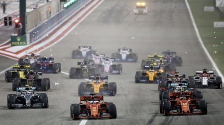 2021年F1暫定カレンダー草案