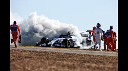 ホンダ、ガスリーのマシントラブルの原因を調査へ@F1ポルトガルGP初日