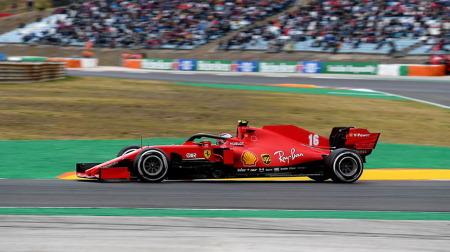 ルクレール、力強いレースで3強に次ぐ4位@F1ポルトガルGP