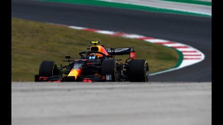 アルボン、チームメイトのフェルスタッペンに周回遅れにされる@F1ポルトガルGP