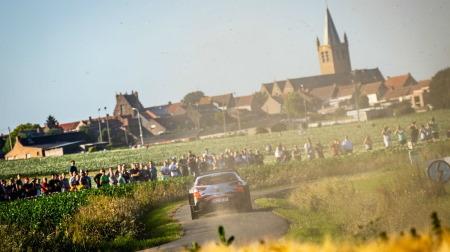 WRCイープル・ラリー@ベルギーがコロナで中止