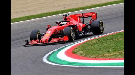 フェラーリ、ベッテルのタイヤ交換で13秒かけ入賞のチャンスを失う@F1エミリア・ロマーニャGP