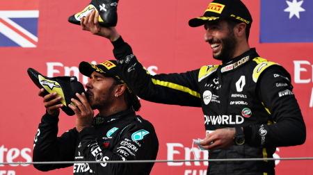 リカルド、まさかの今期2度目の表彰台@F1エミリア・ロマーニャGP
