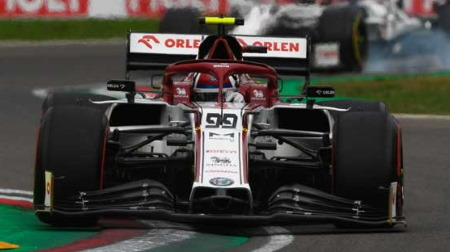 ジョビナッツィ、堅実な走りで入賞@F1エミリア・ロマーニャGP