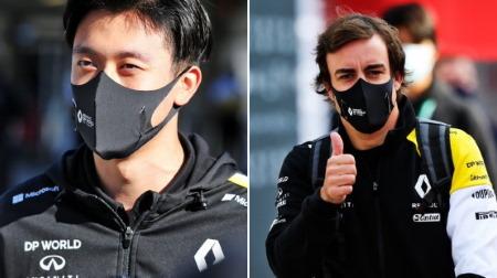 アロンソと周、11月にアブダビでルノーF1テストに参加