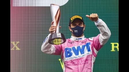 ペレス、最高のレースで2位表彰台@F1トルコGP