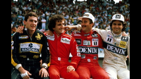 1980年以降のF1ワールドチャンピオン