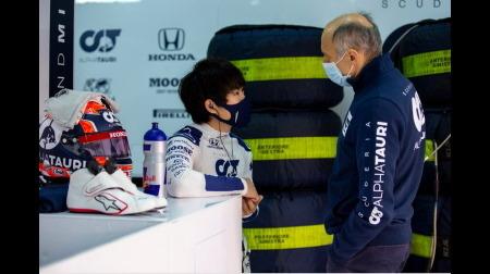 角田、次にF1に乗るときはレギュラーが決まった後